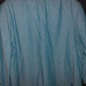Teal Linen/Cotton Sport Coat